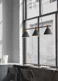 Scandinavian 3-shades Pendant Lamp in Grey - The Lighting Club - Perth - Lighting