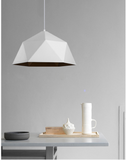 Geometric Pendant Lamp in White - The Lighting Club - Perth - Lighting