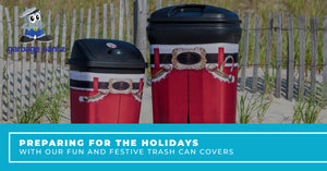 Preparing For The Holidays With Our Fun And Festive Trash Can Covers