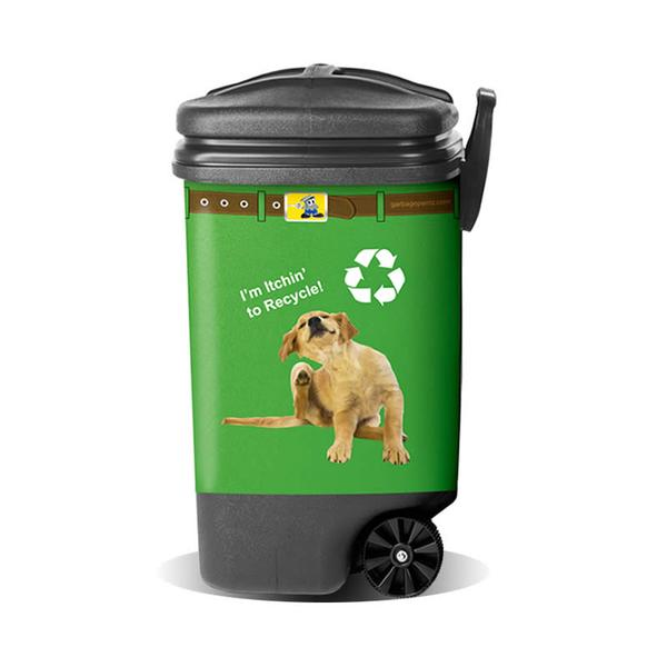 Recycle Puppy Pantz