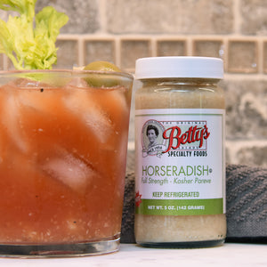 Betty's Hot Pure Horseradish