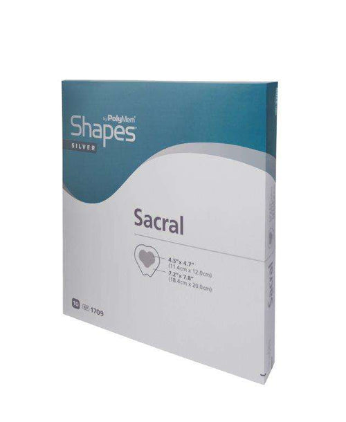 PolyMem Shapes (sacral) - silber