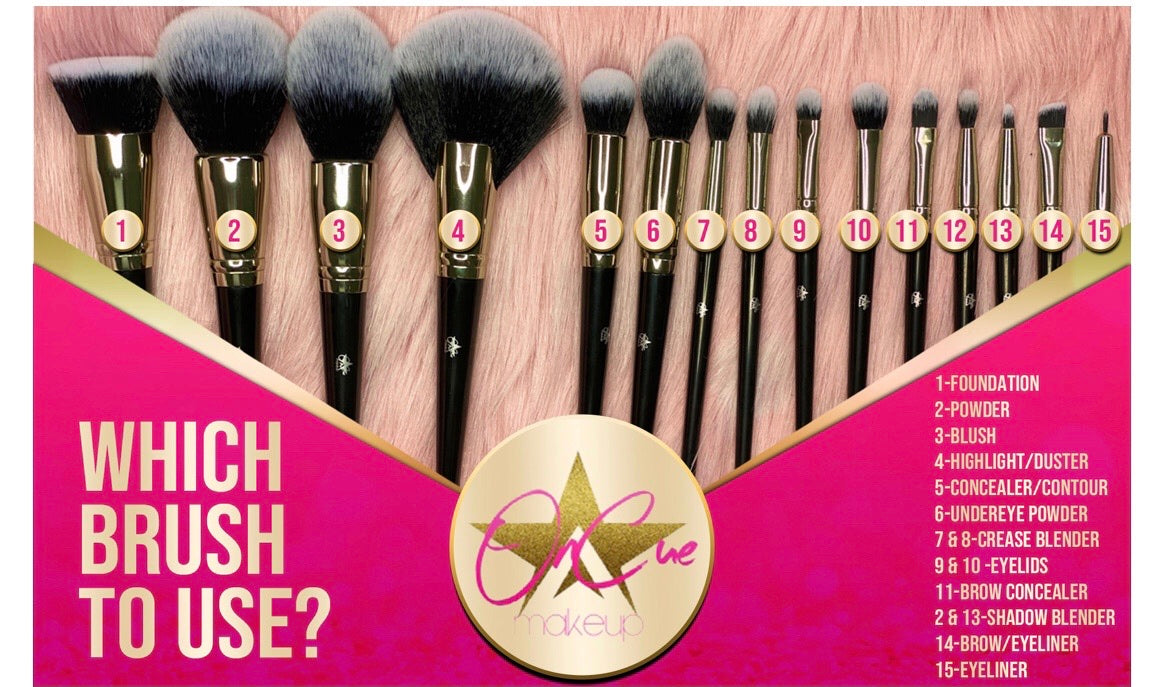 Oncue flawless brush set