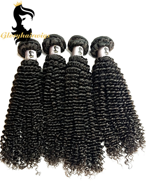 kinky curly virgin human hair