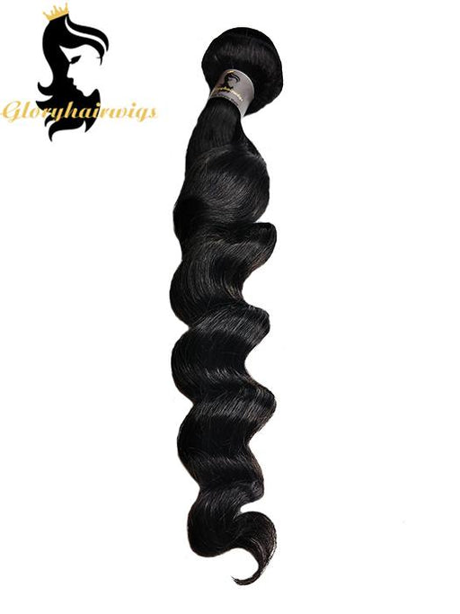 10A grade Natural loose wave Brazilian virgin human Hair Bundles Hair Weaves