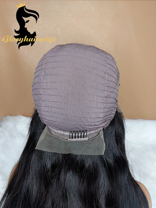 New Arrival hairline style  Lace Front Human Hair Wigs  Silk Straight Wigs - gloryhairwigs