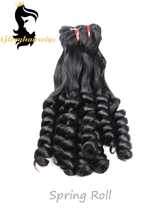 New Arrival Wholesale 12A Fumi Virgin Hair Double Drawh Hairstyle