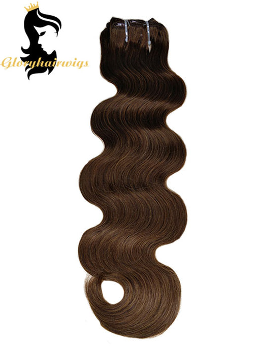 clip in human hair extension straight