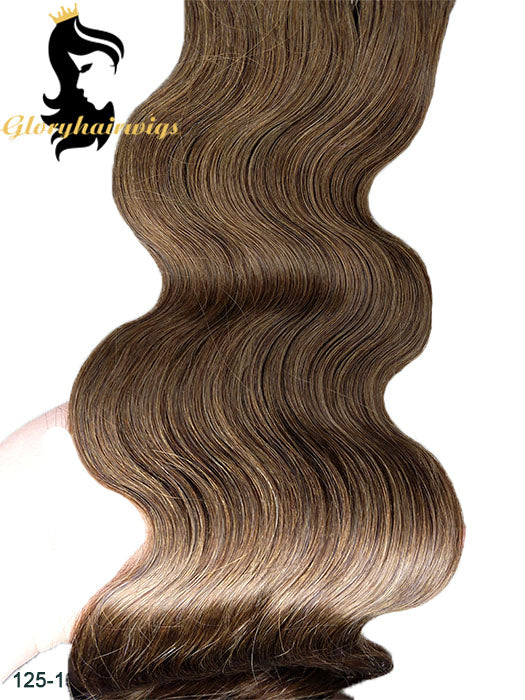 clip in human hair extension kinky straight