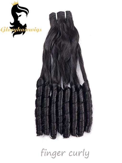 10A 12A 15A Fumi Hair Double Drawh Hairstyle Spring Curly Bouncy Curl