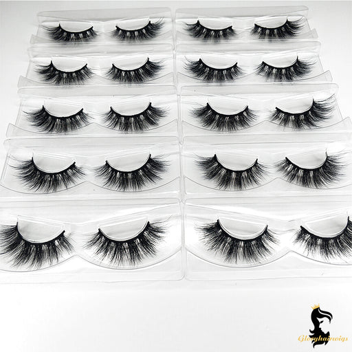 what are synthetic lashes made of
