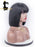 Pretty Bangs 4inch Lace Front Human Hair Wigs  Silk Straight Wigs - gloryhairwigs
