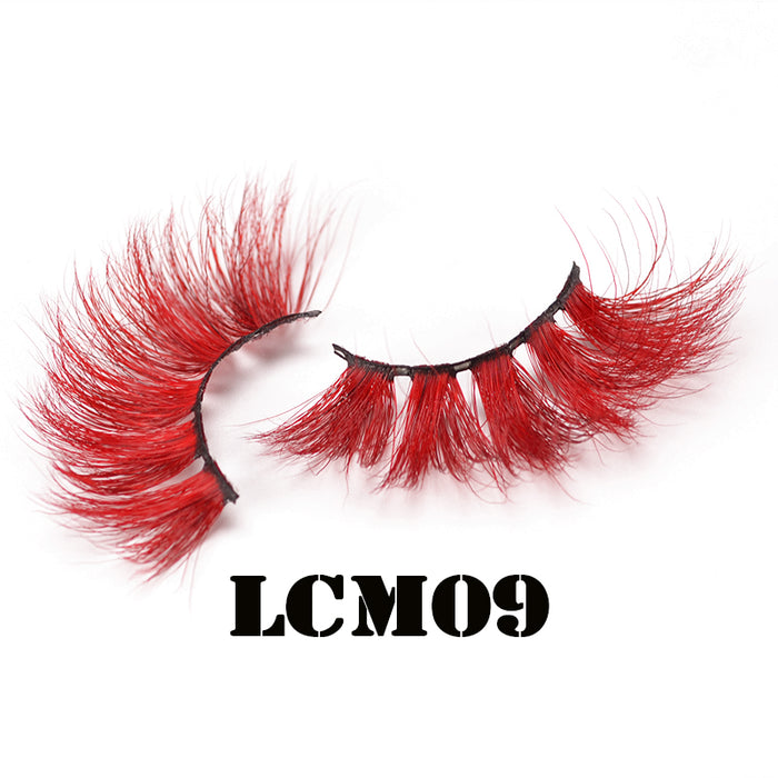 red cherry 3d eyelashes