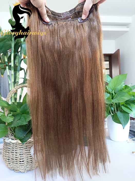Straight Clip In Human Hair Extensions real hair clip in extensions