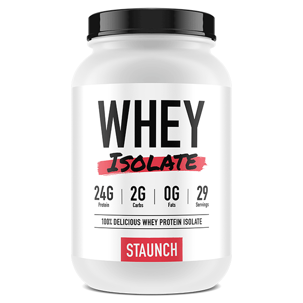 Staunch Nutrition Whey Isolate 2.4lb