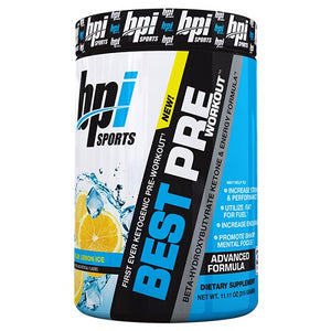 BPI SPORTS BEST PREWORKOUT 30 SERVE