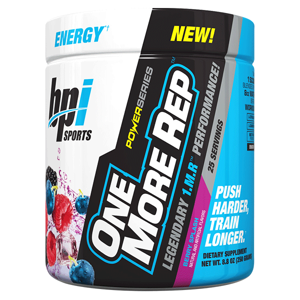 BPI Sports One More Rep 25 Serve