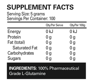 GLUTAMINE 100 SERVE