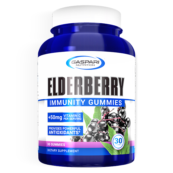 Gaspari Nutrition Elderberry Gummies 30 serve
