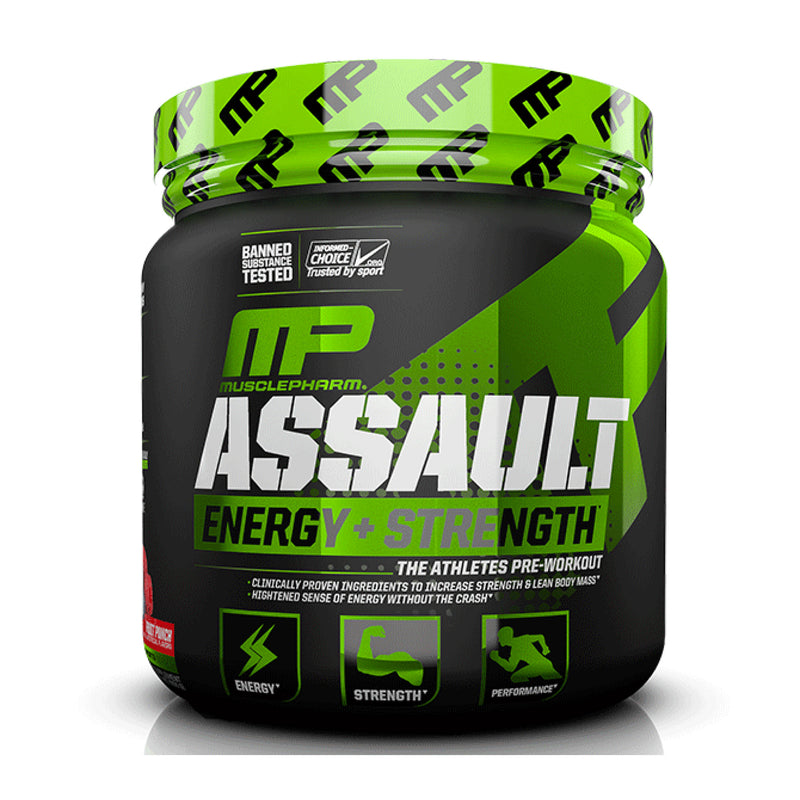 Musclepharm Assault Sport 30 Serve PLUS Creatine Bundle