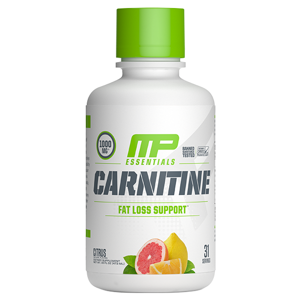 MUSCLEPHARM ESSENTIALS LIQUID CARNITINE + FREE TONE CLA