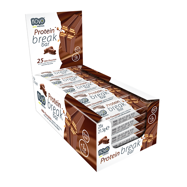 NOVO Protein Break Bar 25 Pack