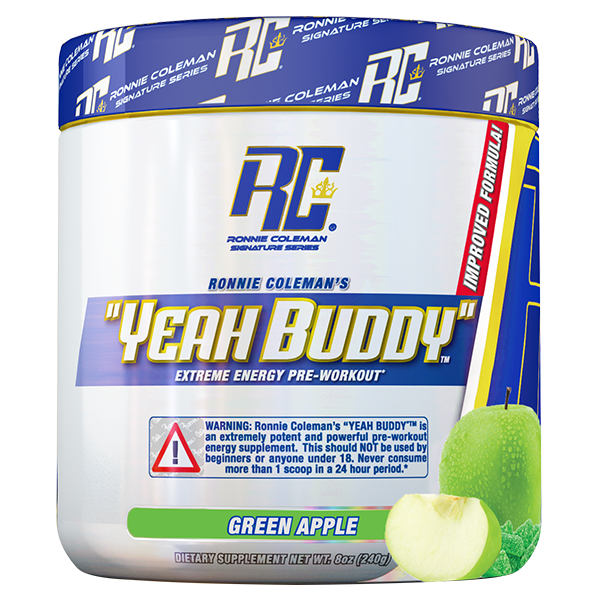 Ronnie Coleman Yeah Buddy Preworkout 30 Serve + FREE Ronnie BCAA