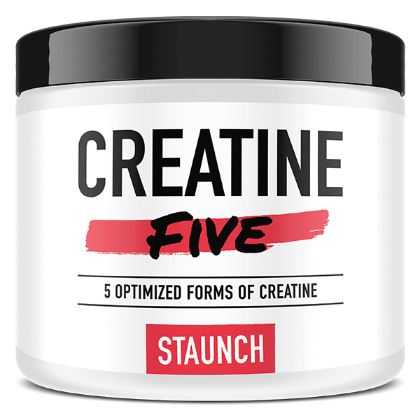 Staunch Nutrition Creatine Five 50 Serve