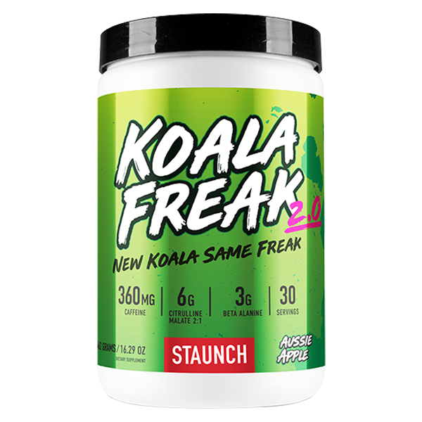 Staunch Nutrition Koala Freak 2.0 Preworkout 30 Serve