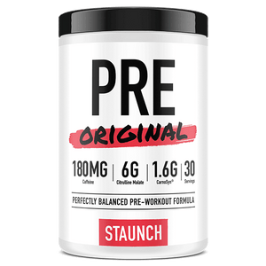 Staunch Nutrition Pre Original Preworkout 30 Serve