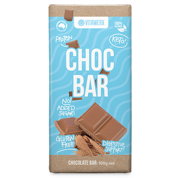 Vitawerx Chocolate Protein Bars 100g 12 Pack
