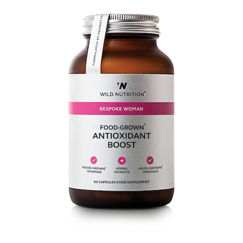 Wild Nutrition Food Grown Antioxidant Boost 60 Caps