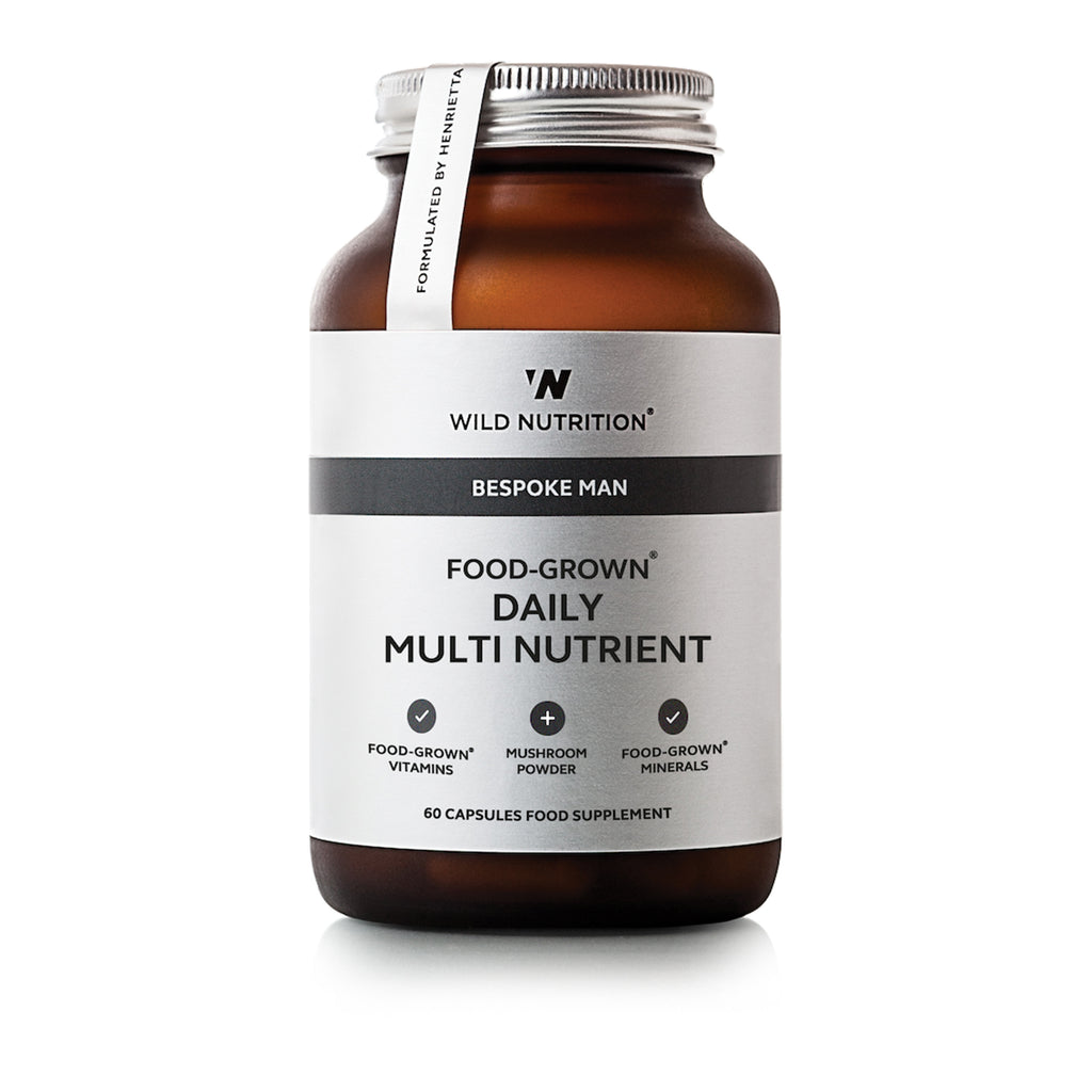 FOOD GROWN DAILY MEN'S MULTI NUTRIENT 60 CAPS