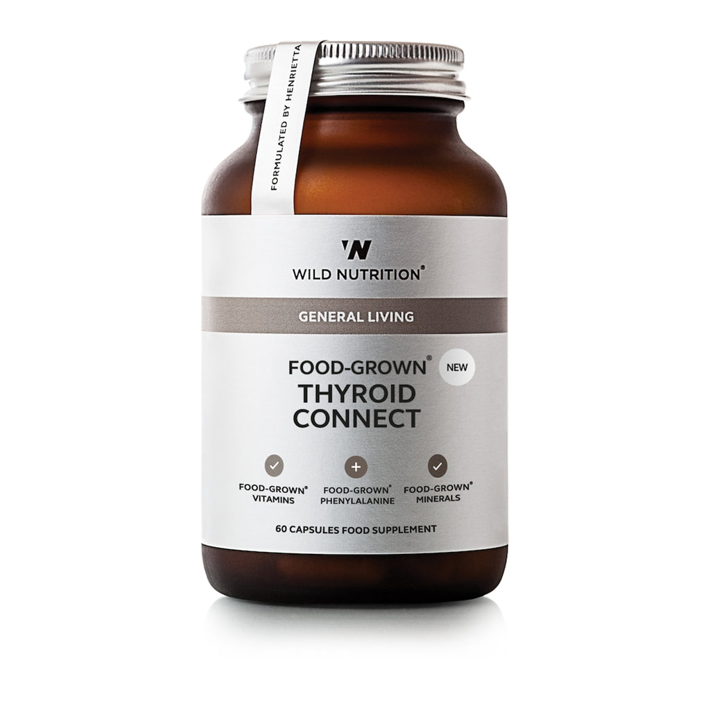 Wild Nutrition Food Grown Thyroid Connect 60 Caps