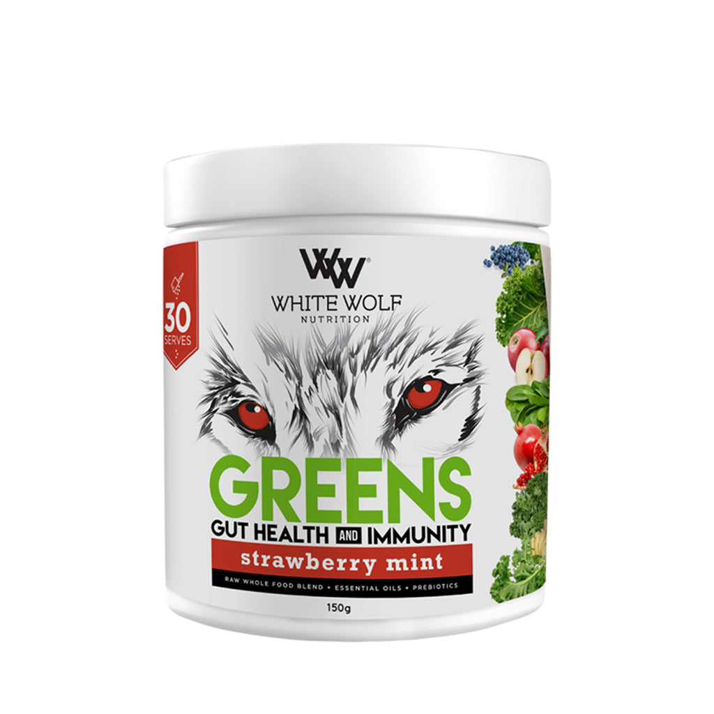 White Wolf Greens + Gut Health & Immunity 150g