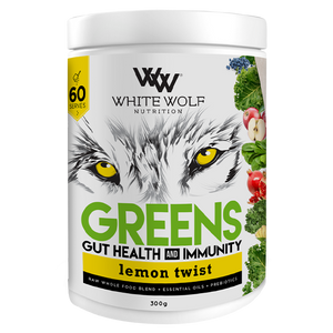 White Wolf Greens + Gut Health & Immunity 300g