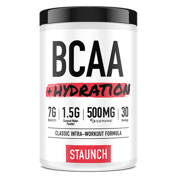 Staunch Nutrition BCAA + Hydration 30 Serve