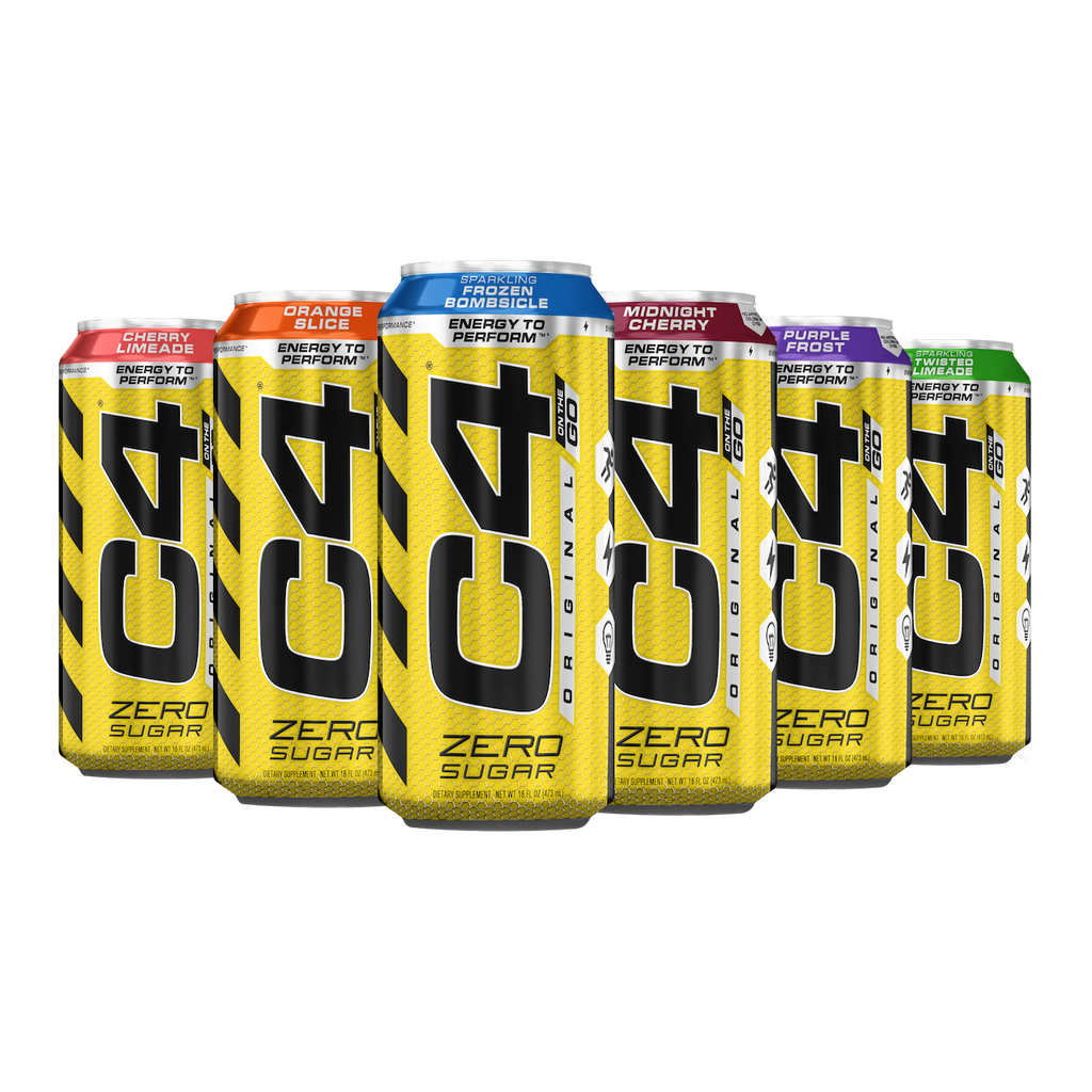 CELLUCOR C4 CARBONATED CANS