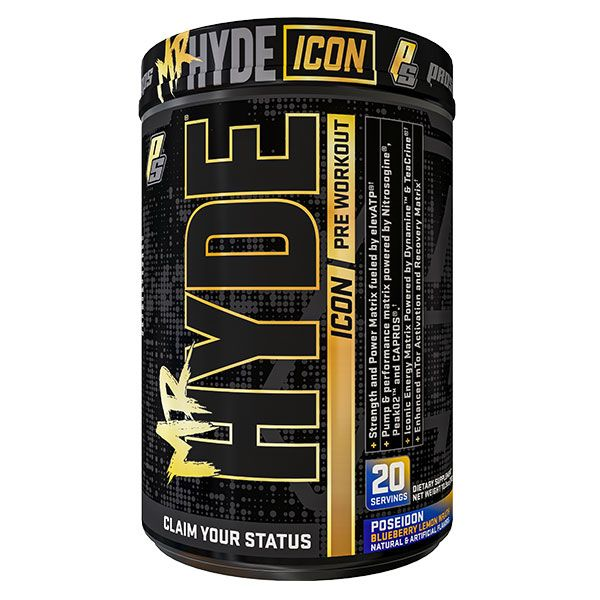MR HYDE ICON PREWORKOUT 20 SERVE