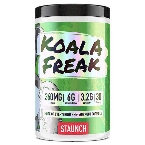 Staunch Nutrition Koala Freak Preworkout 30 Serve