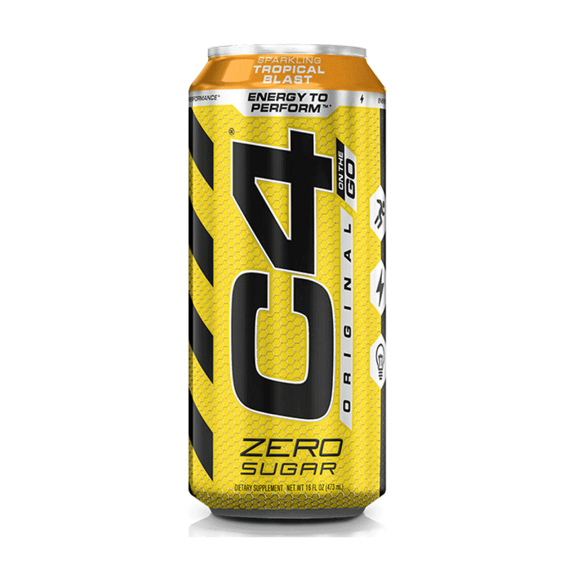 CE C4 CARBONATED CANS