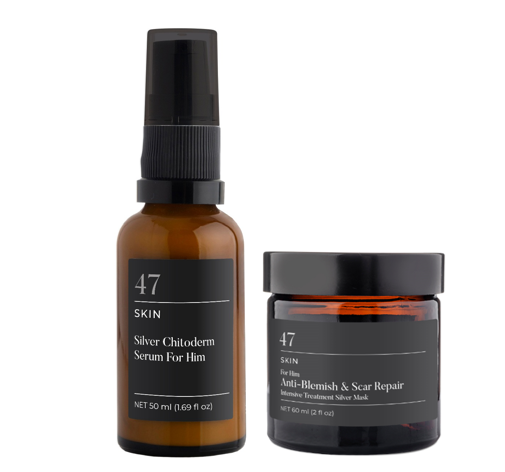 For Him Anti-Blemish & Scar Repair 2 Step Intensive Treatment Bundle