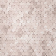 Hexagon - Blush Wallpaper