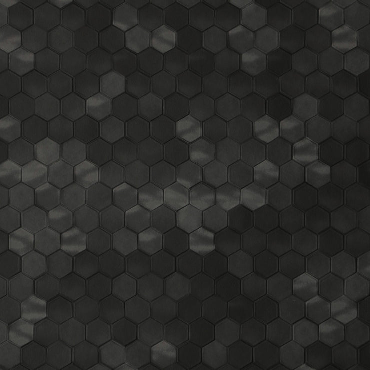 Hexagon - Black Wallpaper