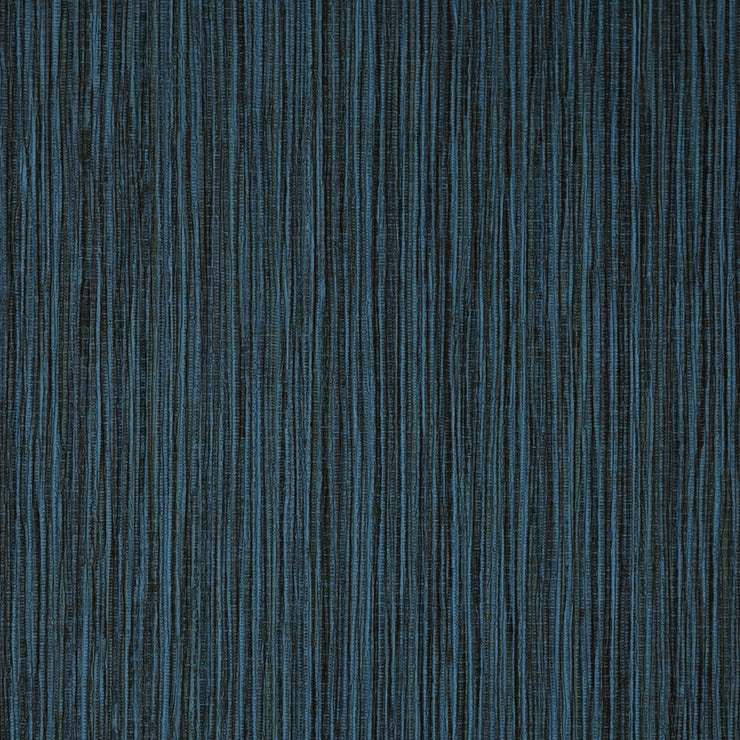Faux Grasscloth - Blue Wallpaper