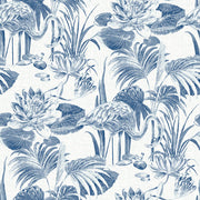 Frolic Blue Lagoon Wallpaper Wallpaper
