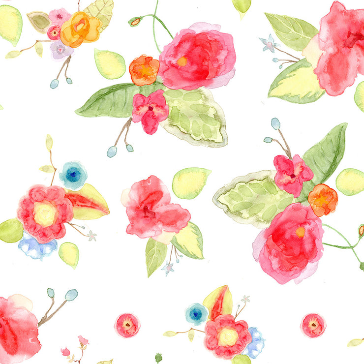 Watercolor Bouquet - Array Wallpaper