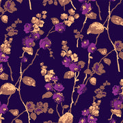 Twigs + Flowers - Birch Wallpaper