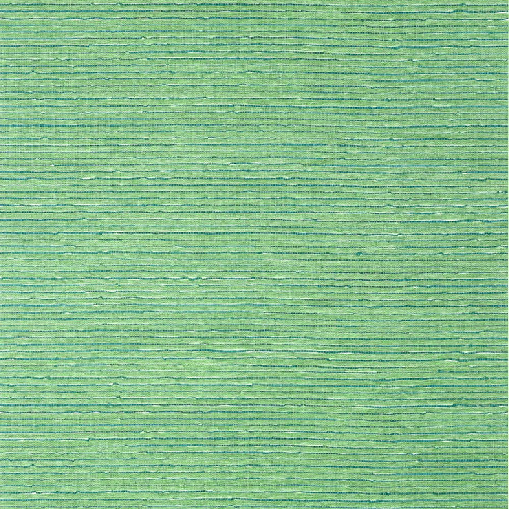 Ramie Weave - Green Wallpaper