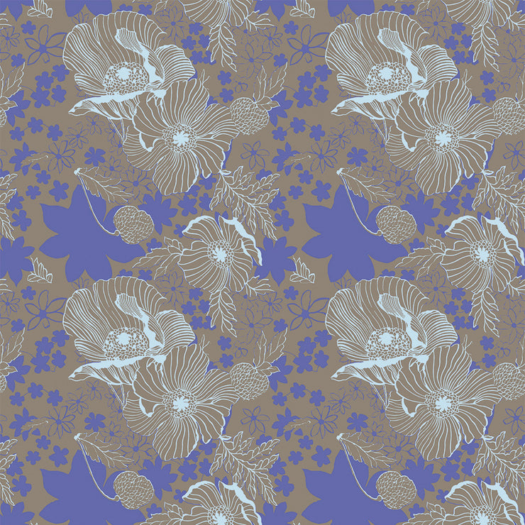 Donna - Periwinkle Wallpaper
